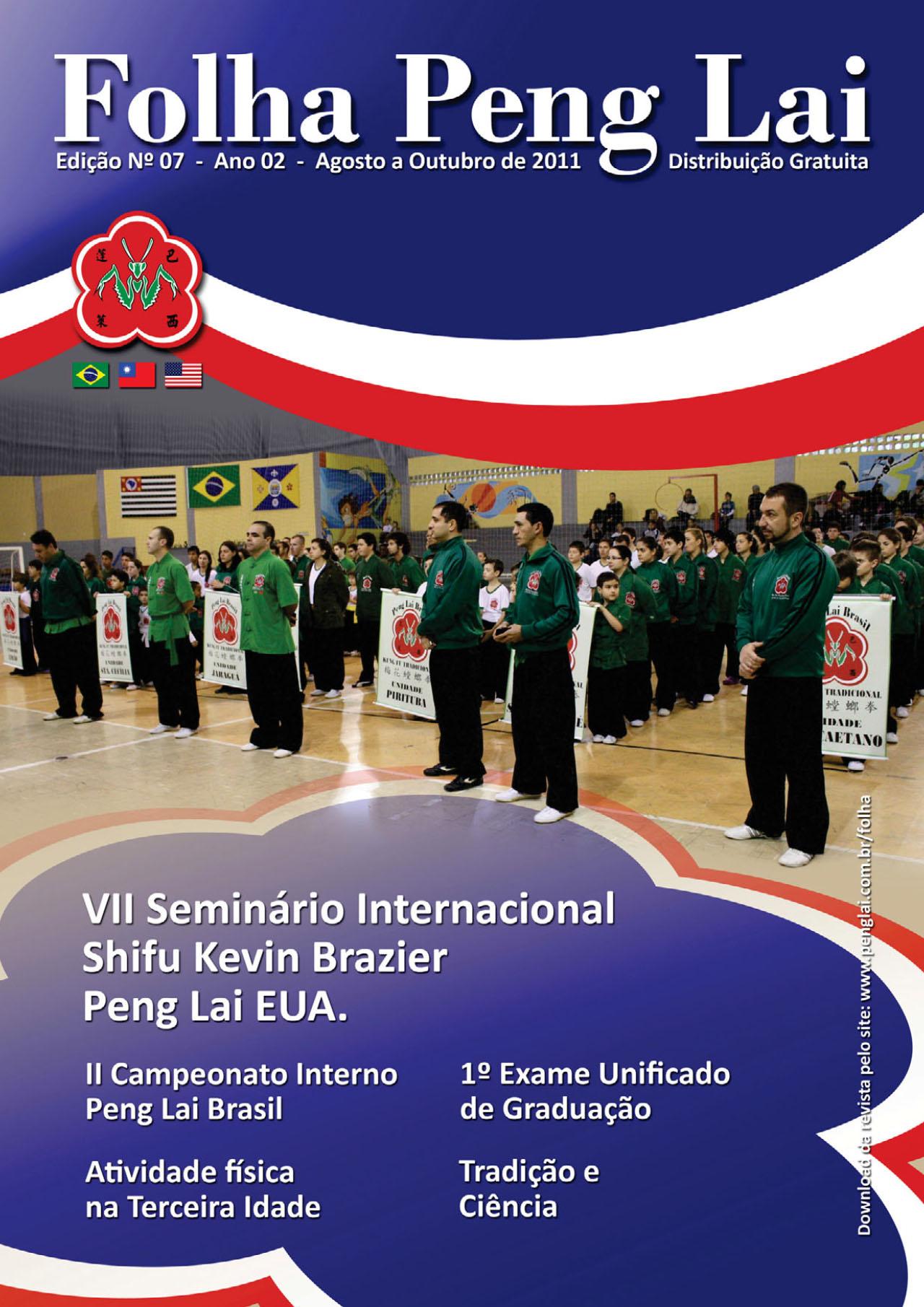 Folha Peng Lai - Edição 7